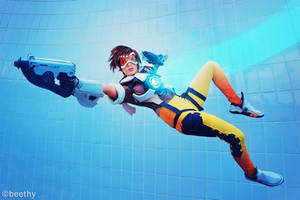 Overwatch - Tracer -01- by beethy