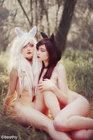 Evey and Onyx -04- by beethy