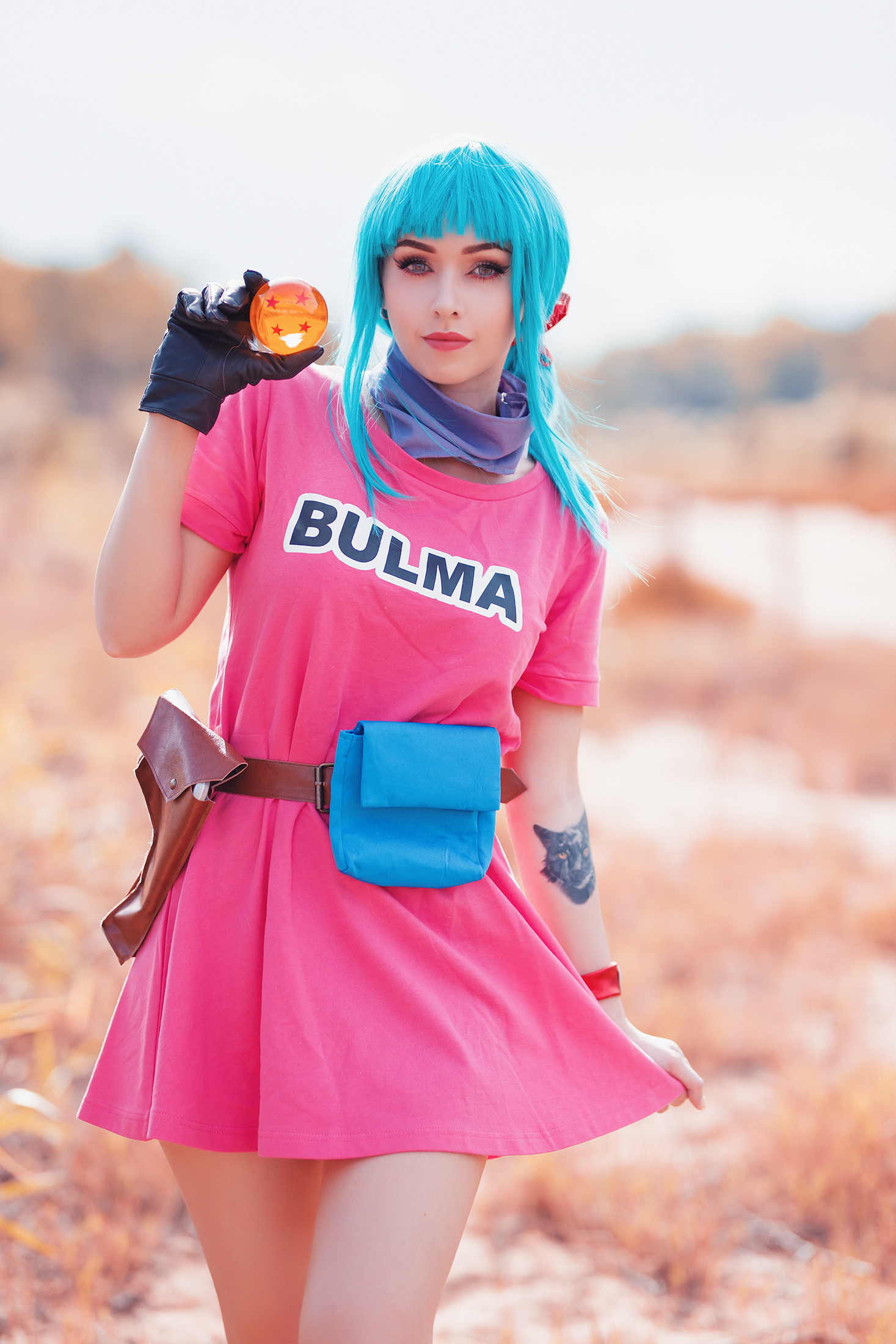 Amy - Bulma Dragon Ball by beethy