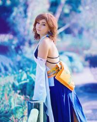 Amy - Yuna - Final Fantasy X by beethy