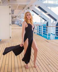 Kayla - Black Dress by beethy