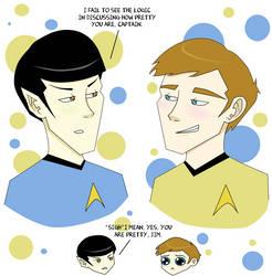 Am I Pretty, Spock? by Reichiru-Tomoe