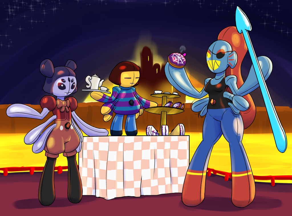Undertale Tf Tg: Inflatale Spider Shop By