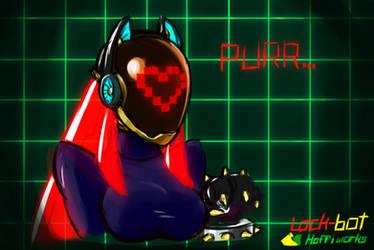 Robo-Lockkat by PlayfulElegy