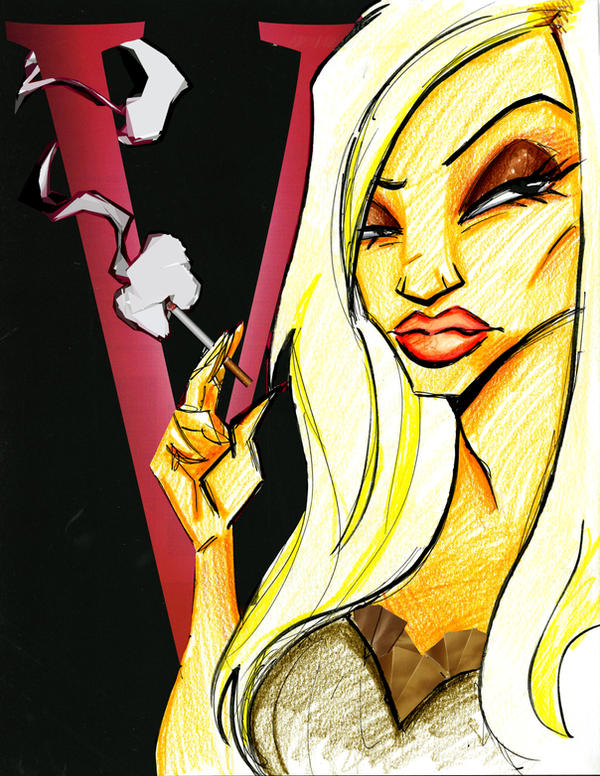 Donatella Versace by TerryBlas