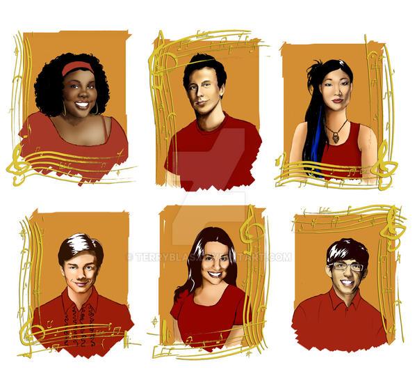 Glee Kids by TerryBlas