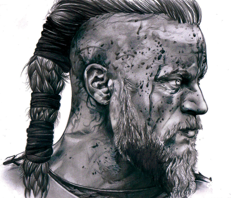 Ragnar lodbrok vikings by jossyalburquenque on deviantart for Viking pencils