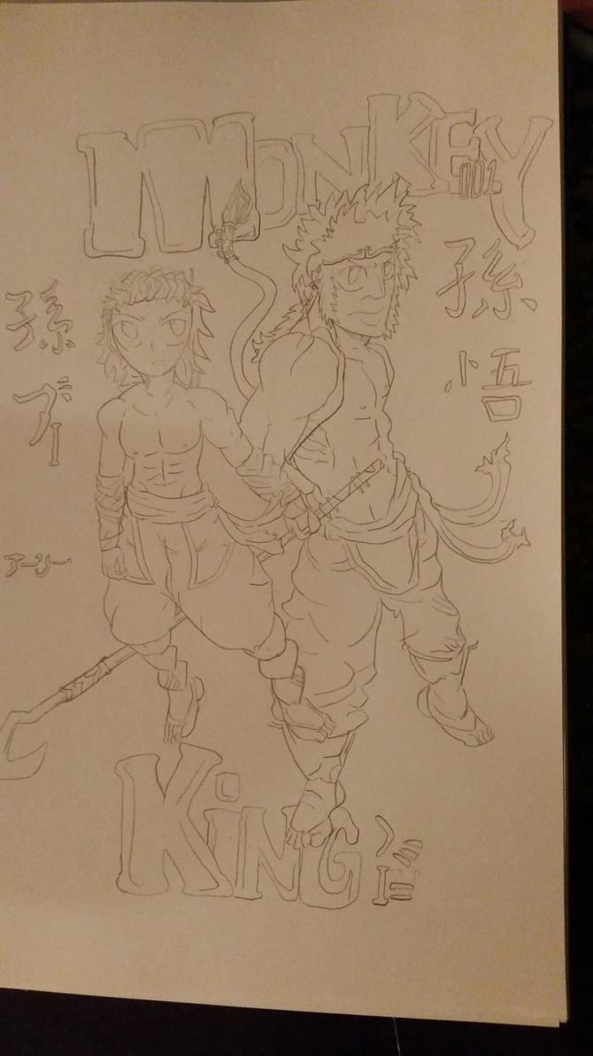 Monkey king cover 1 by kokba