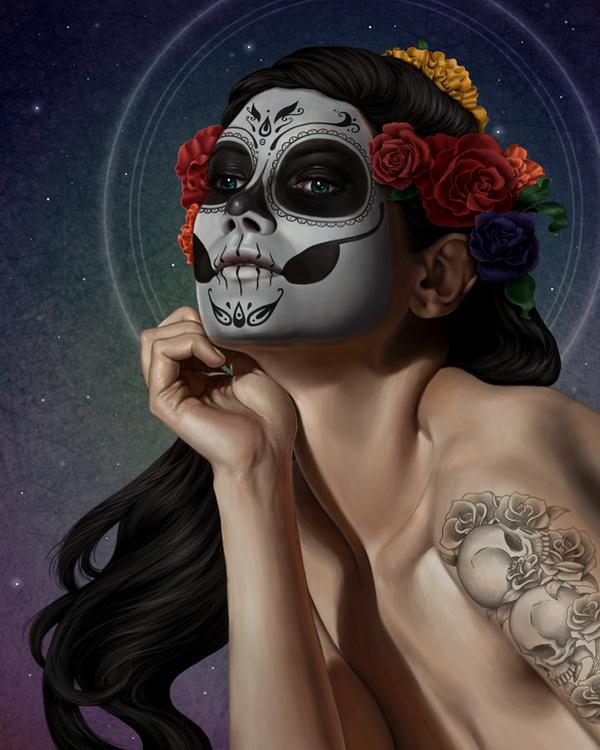 Skulls by joyceline-art