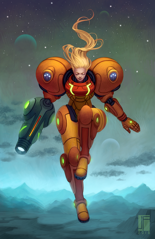 Samus by joifish