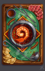 Hearthstone Card Back Concept: Hot Pot