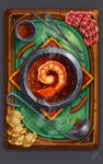 Hearthstone Card Back Concept: Hot Pot by joifish