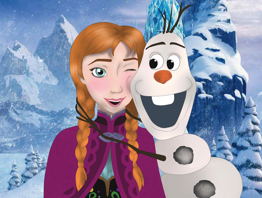 Anna and olaf by dianaxcolibry on deviantart - Olaf and anna ...