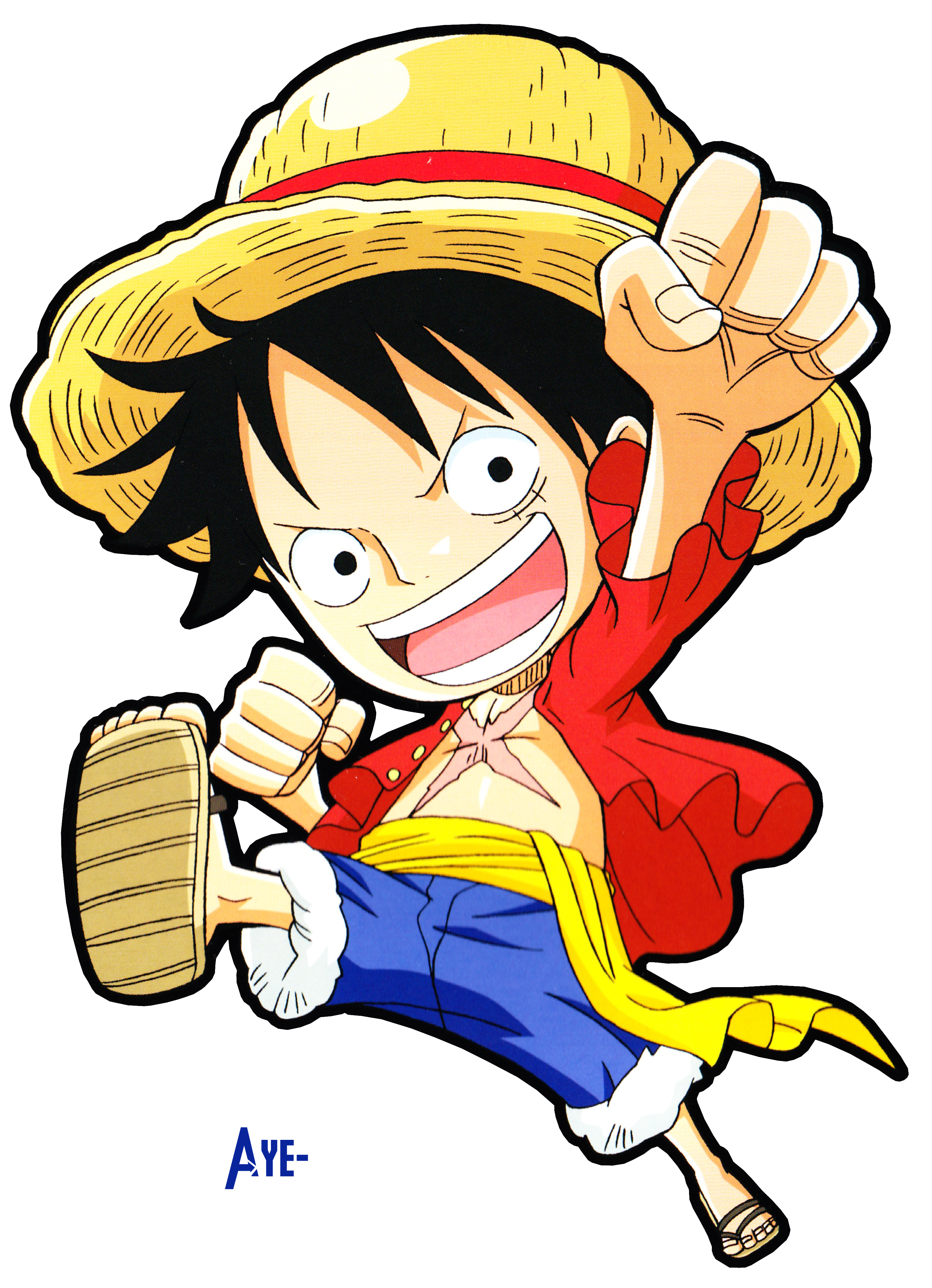 Ace And Luffy Chibi images