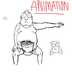 Napkinfriends : first flash animation by OldschoolCartoons