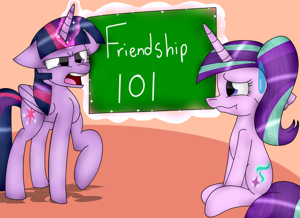 Friendship 101 by TomboyGirl45