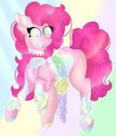 Pinkie Pie Pastel Gore (+Speedpaint) by UnknownArtist20
