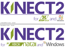 Kinect 2 --- Logo Idea ---Kinect successor--- by kevboard