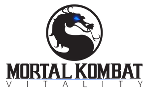 Mortal Kombat Vitality --- Logo Idea ---MK Vita- by kevboard