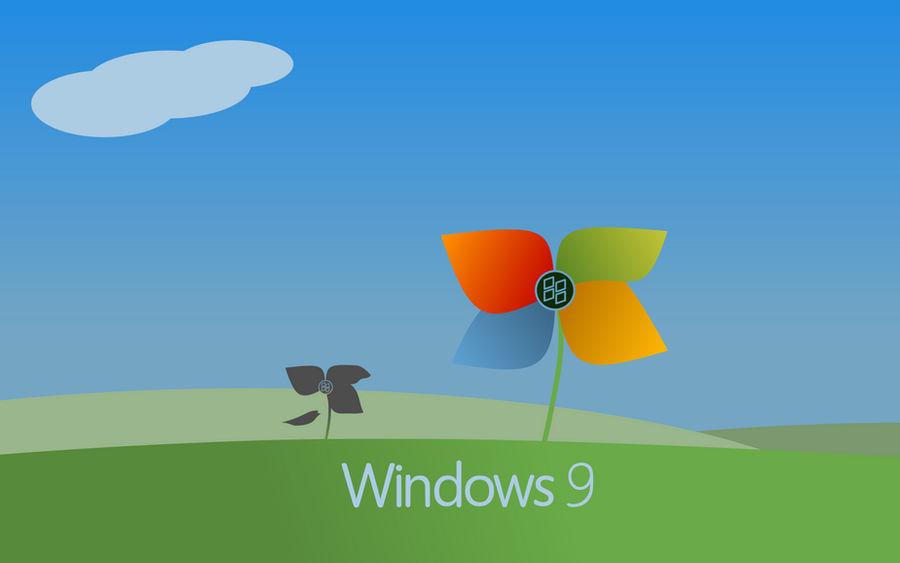 Windows 9 Flower - Wallpaper - FanArt - 1680x1050