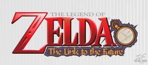 Zelda: The Link to the Future --- Logo Idea ---