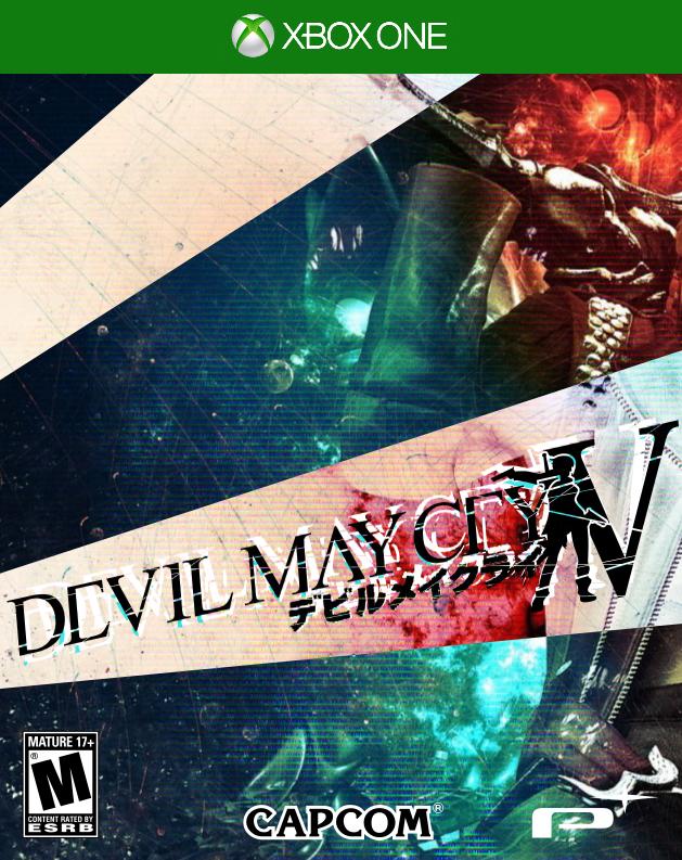 Devil May Cry 5 ---Cover+Logo V2--- DMC5 by kevboard