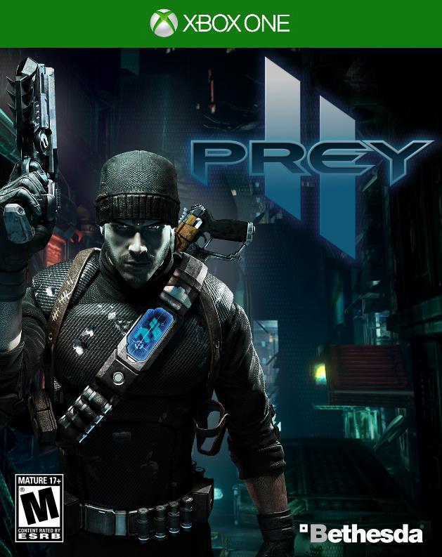 Prey 2 ---Cover--- by kevboard