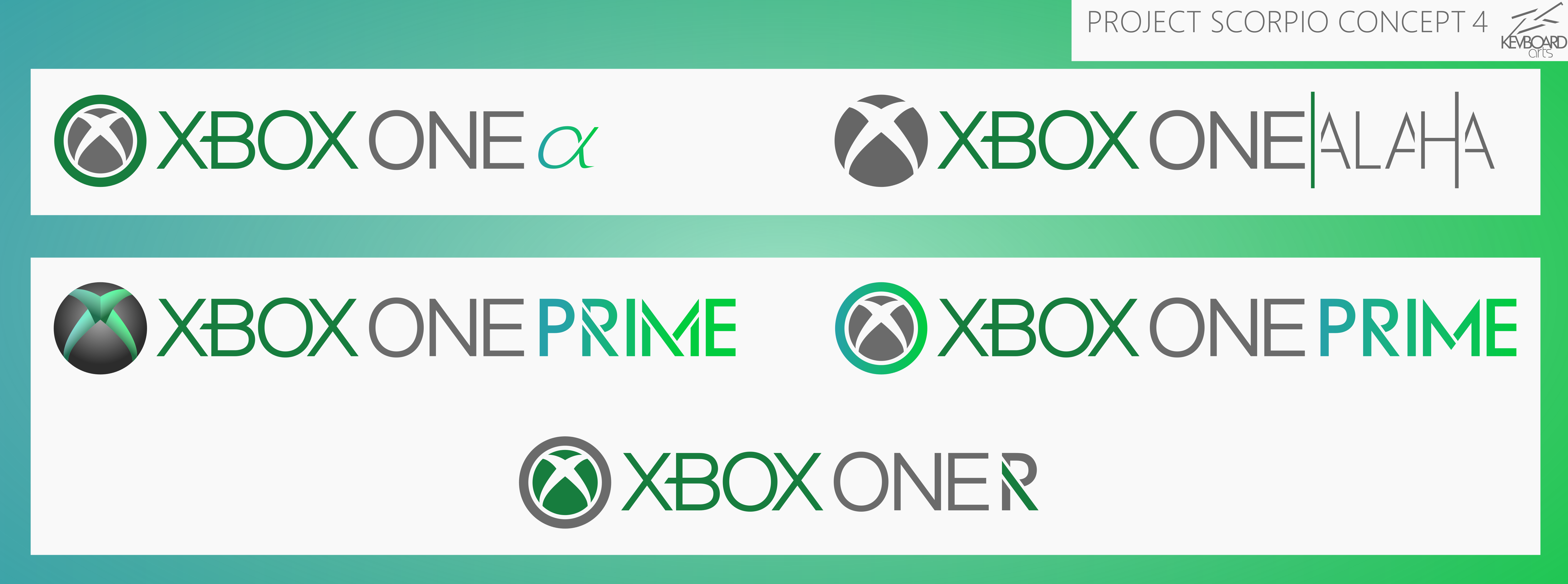Art Show Ideas Xbox One Logo Ideas 4 Project Scorpio By Kevboard On