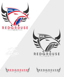 EZA - Prodcast Team Logo - RED GROUSE by kevboard