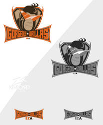 EZA - Prodcast Team Logo - GORGEOUS GORILLAS by kevboard