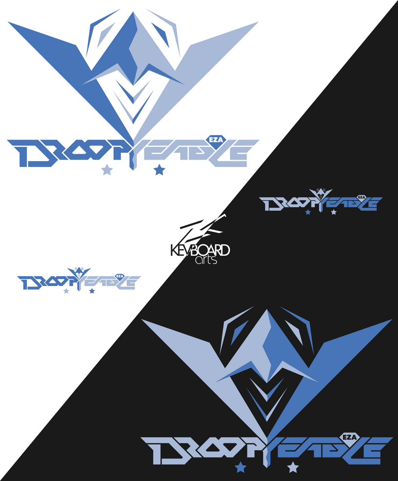EZA - Prodcast Team Logo - DROOPY EAGLE 3.5 by kevboard