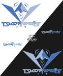 EZA - Prodcast Team Logo - DROOPY EAGLE 3.5
