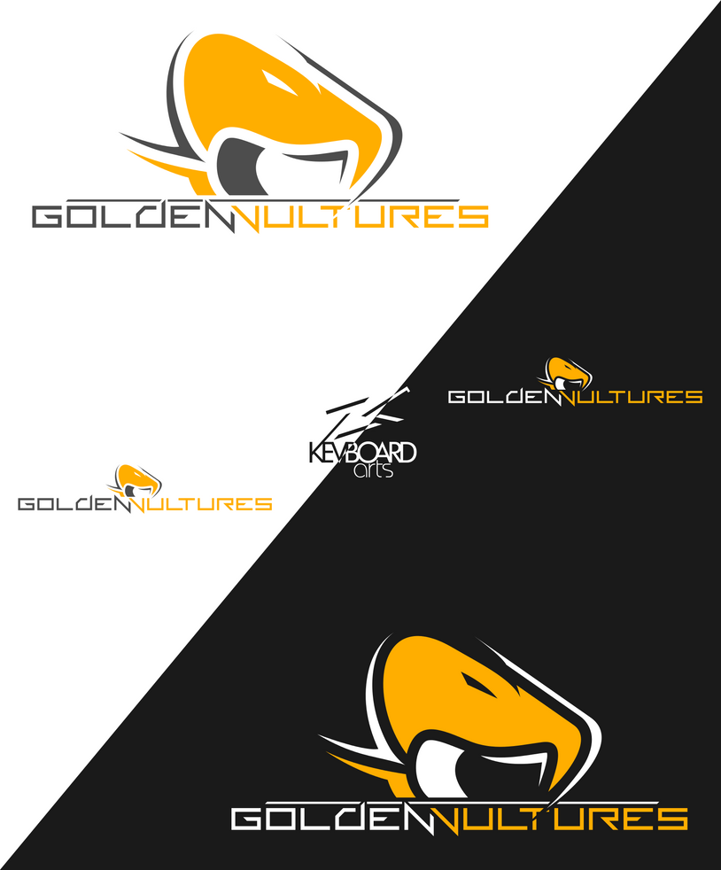 EZA - Prodcast Team Logo - GOLDEN VULTURES by kevboard