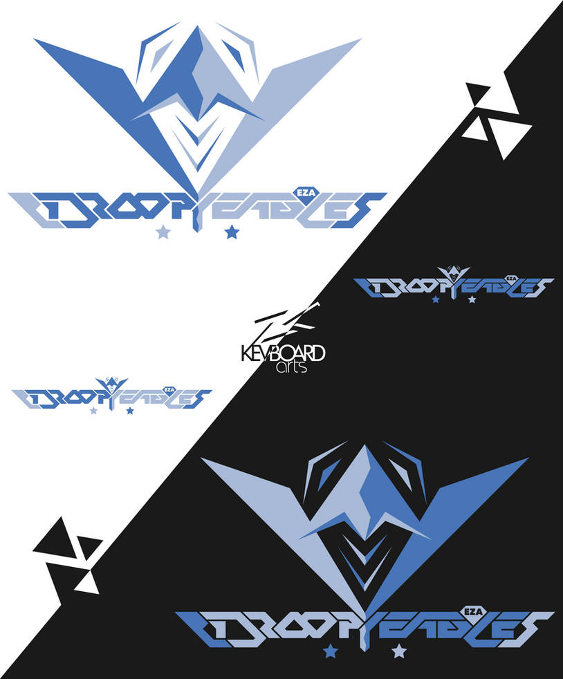 EZA - Prodcast Team Logo - DROOPY EAGLES by kevboard