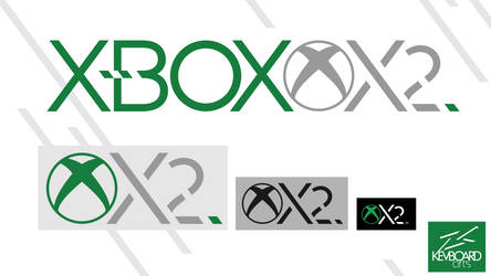 Xbox Two | Logo Idea #2 | 'Xbox X2' version 2 by kevboard