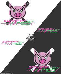 EZA- Prodcast S.4 Logo -SCRAPPY LITTLE PIGS v2 by kevboard