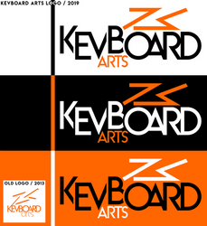 Kevboard Arts - New Logo 2019 - by kevboard