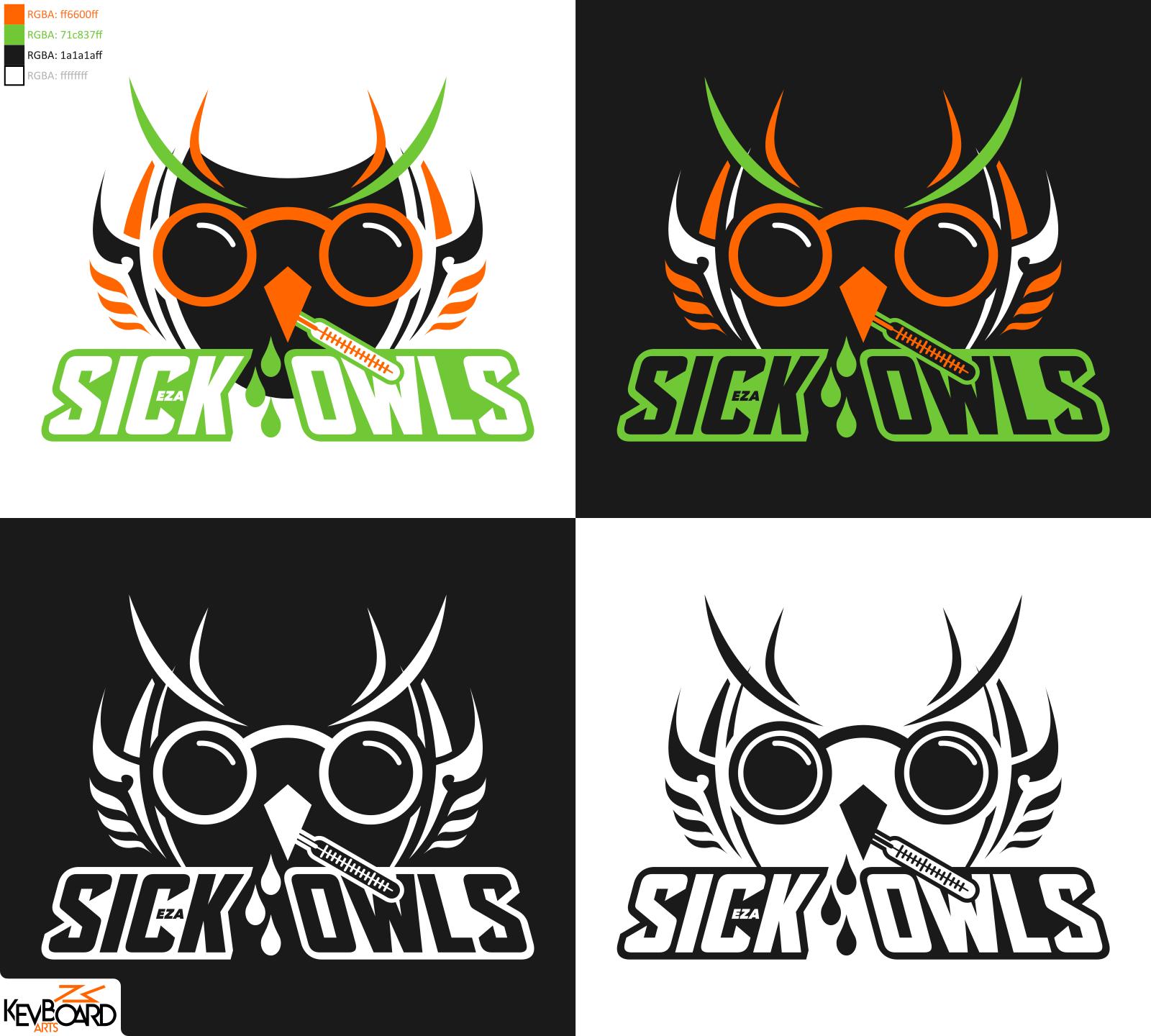 EZA-Prodcast Season 5 Logo // Sick Owls v1