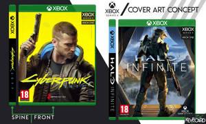 Xbox Series X // Cover Design Concept