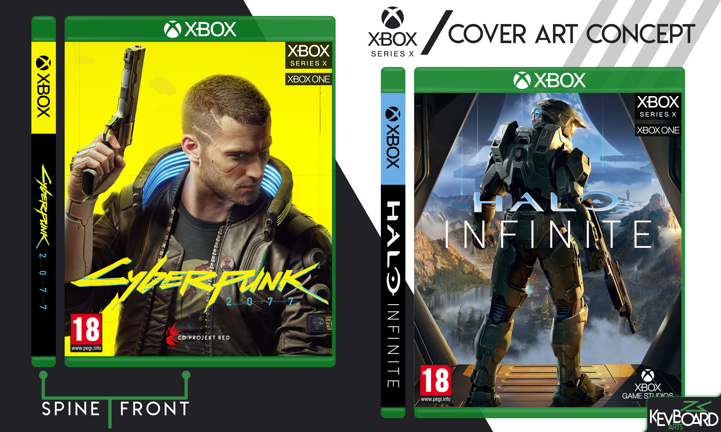 Xbox Series X Cover Design Concept By Kevboard On Deviantart