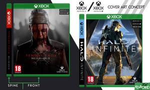 Xbox Series X // Cover Design Concept // v2