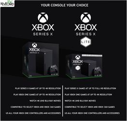 Xbox Series X / Packaging Mockup / Series X Lite