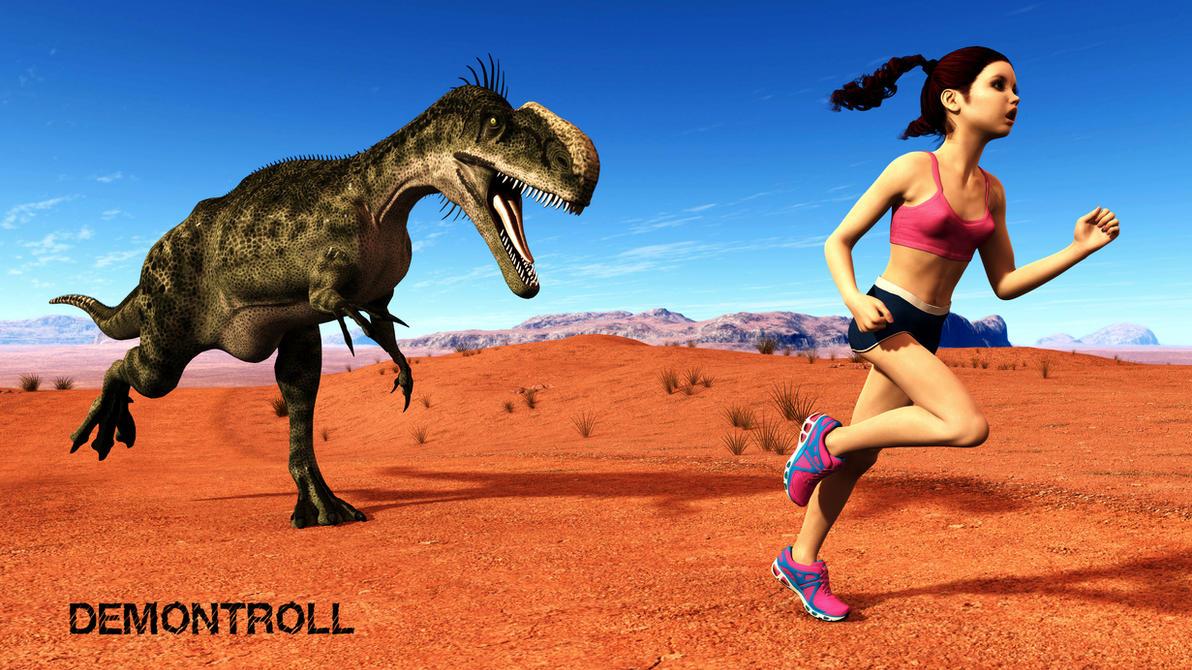 running with dinosaur wallpaper - photo #16