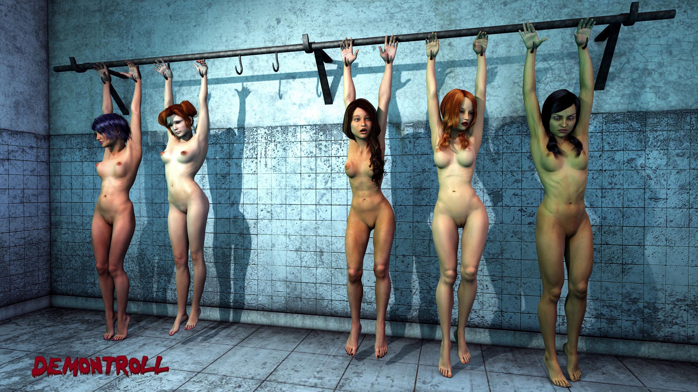 Рабыни в кандалах в рассказах,  Цепь. Часть 1. Ваша рабыня PainArt 25 фотография