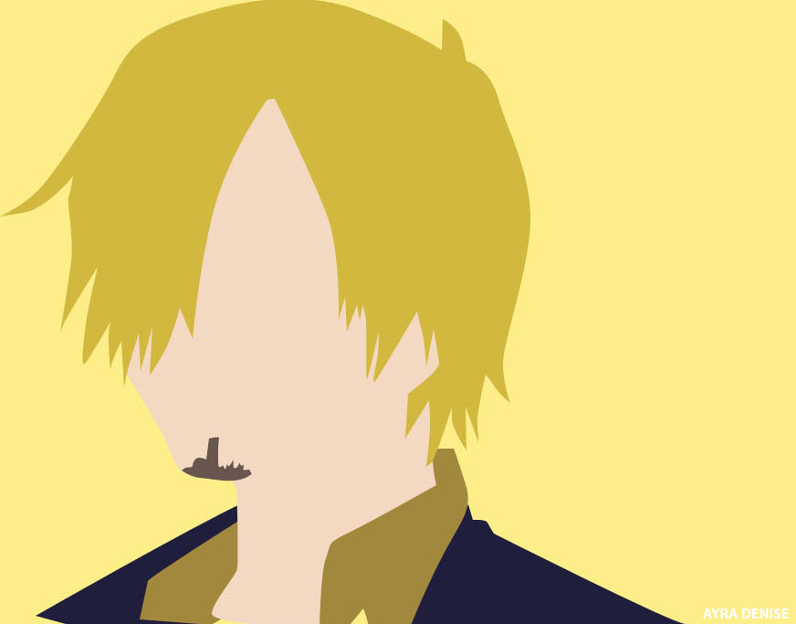Minimalist sanji by adenisesuarez on deviantart for Minimalist art pieces
