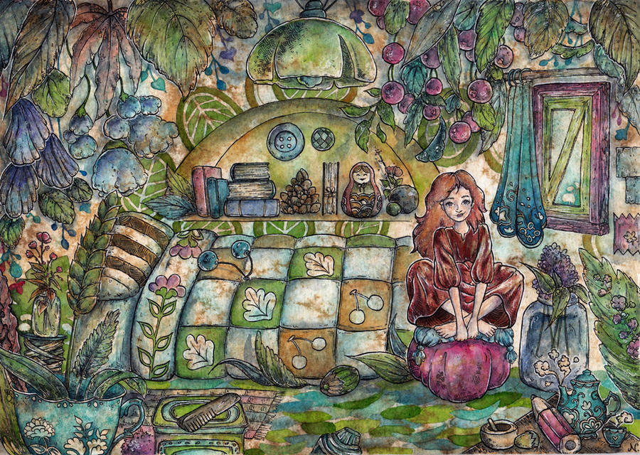 Arrietty's Room by pseudozufall