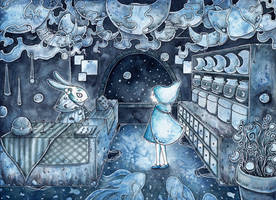 Moon Shop by natzufall