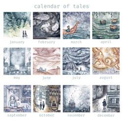 Calendar Of Tales by natzufall