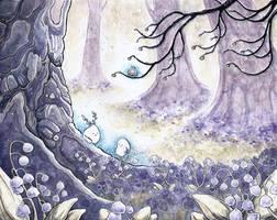 Spring Spirits by natzufall