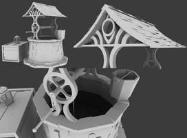 Well Clay render by PepaBurrr